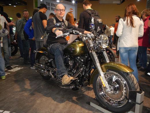 Natürlich habe ich auch bei Harley Davidson vorbei gesehen.