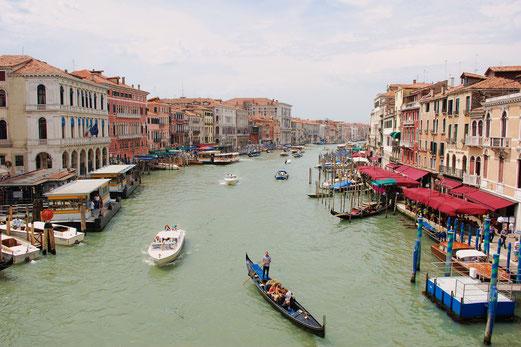 Natürlich muss man auch zum Canale Grande...