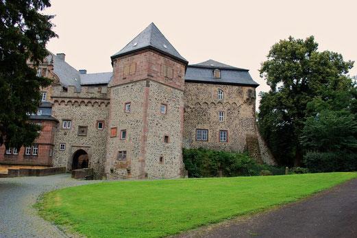 Wirklich ein imposantes Schloss.