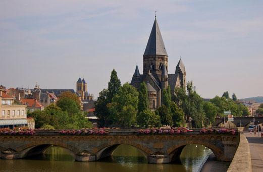 Bilderbuch Frankreich in Metz.