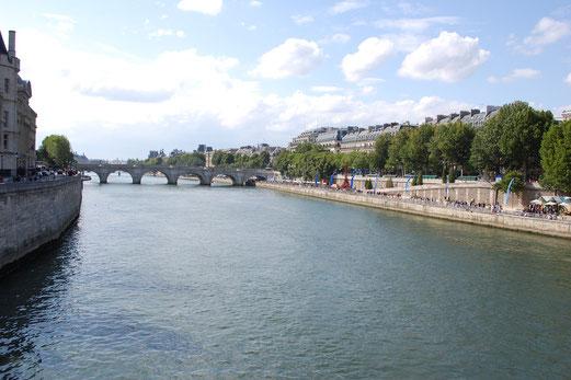 Paris und die Seine.