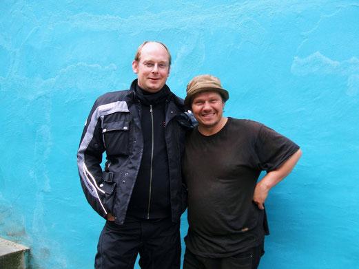 Motorradwanderer und Manfred (Manni) Ludolf.
