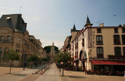 Die Innenstadt von Metz lädt zu einem Bummel ein.