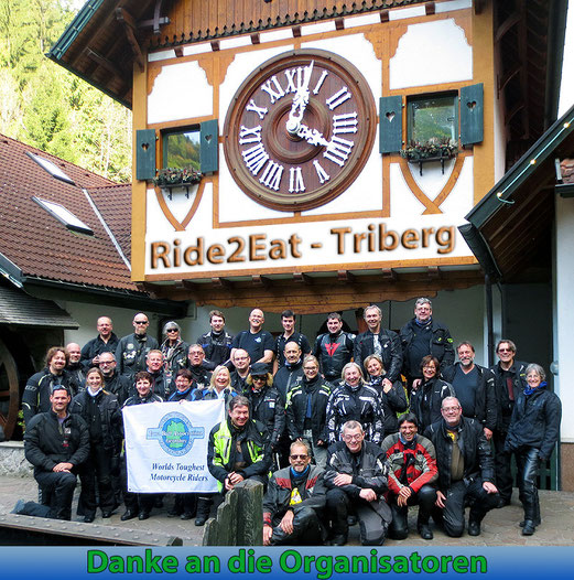 "Gruppenfoto IBA ""Ride to eat 2014"""