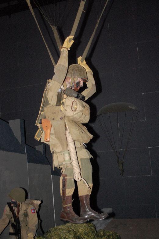 Ranger Museum St. Mere Eglise: Fallschirmjäger