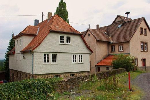 Typische Bauweise im Vogelsberg.