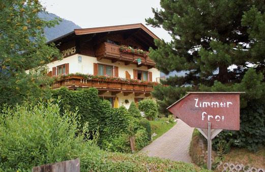 Unsere Unterkunft am Fuße des Obersalzberg.