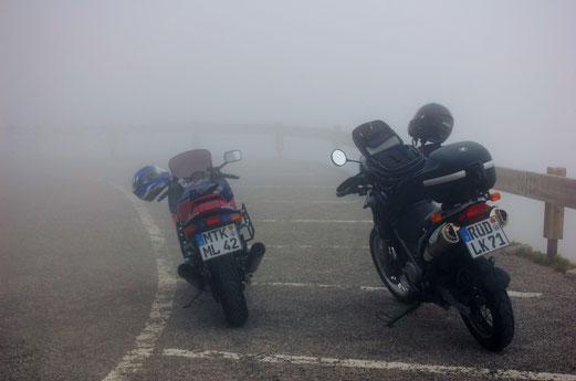 Drei Zinnen Panoramastrasse: So macht Motorrad fahren keinen Spass.