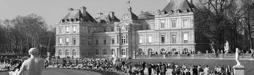 Les principaux parcs et jardins de Paris