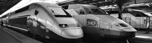 Consulter les horaires des TGV pour des destinations en France et en Europe.