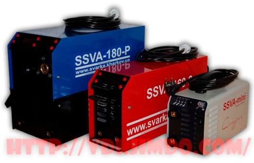 Сварочные аппараты SSVA купить киев