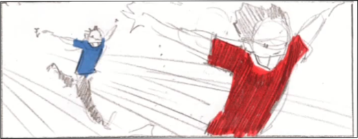 Image du storyboard du vidéo-clip de Help Myself.