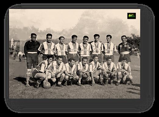 Deportivo Cicolac. De pies primera fila, de izquierda a derecha, numero 3 Ariel Quintero,  numero 8 Jorge Crespo. Segunda fila, mismo orden, numero 3 Óvido Gómez.