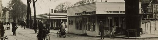 Houten noodwinkels