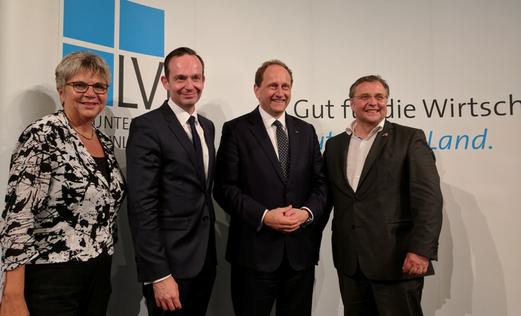 Helga Lerch, Dr. Volker Wissing, Alexander Graf Lambsdorff u. Thomas Roth
