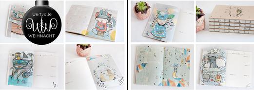 Lovely Diary - Taschenbuchkalender 2016 von Herr Pfeffer