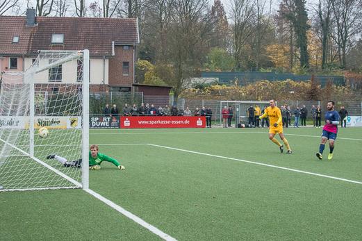 Das 3:0 für die Erste Mannschaft im Spiel gegen die SG Schönebeck. - Foto: r.f.