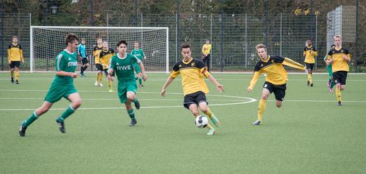 B1-Jugend im Heimspiel gegen den FC Stoppenberg. - Foto: r.f.