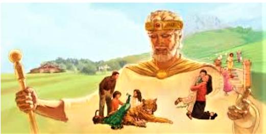 J'ai établi mon roi sur Sion, ma montagne sainte. Je publierai le décret: Jéhovah m'a dit: Tu es mon Fils, je t'ai engendré, je te donnerai les nations pour héritage, pour domaine les extrémités de la terre. Tu les briseras avec un sceptre de fer.