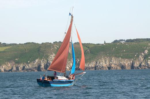 le grand bleu en baie de Douarnenez