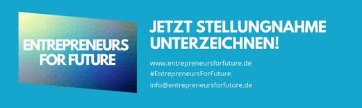 Masseur Fiebiger unterstützt #Entrepreneursforfuture