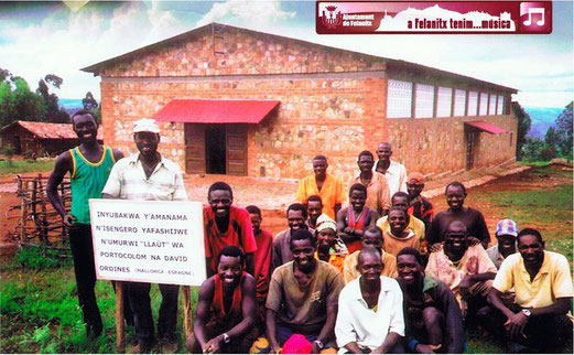 Proyectos en Burundi