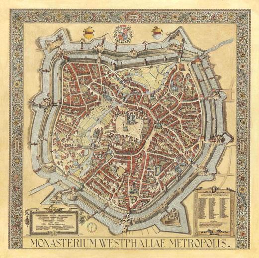 Vorgelschau auf Münster 1636 - Alerdinck