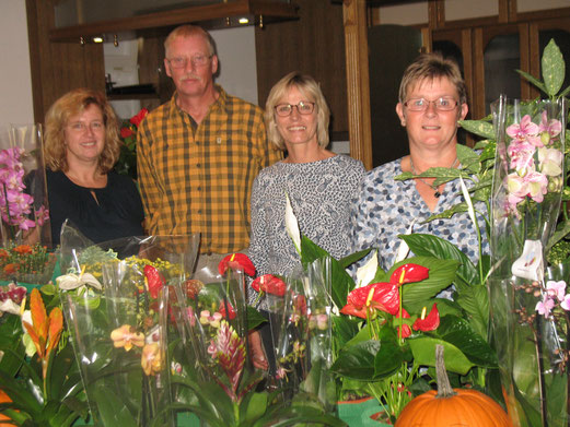 von links: Anja Helms, Rainer Mählmann, Claudia Warns und Anke Höppner; Foto: Karin Stolle