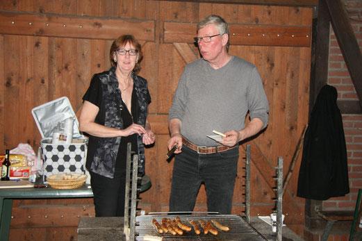 Marion und Joachim in Aktion;  Foto: Karin Stolle