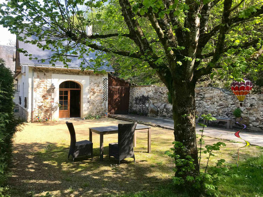 Self-contained holiday rental of the Domaine de Joreau