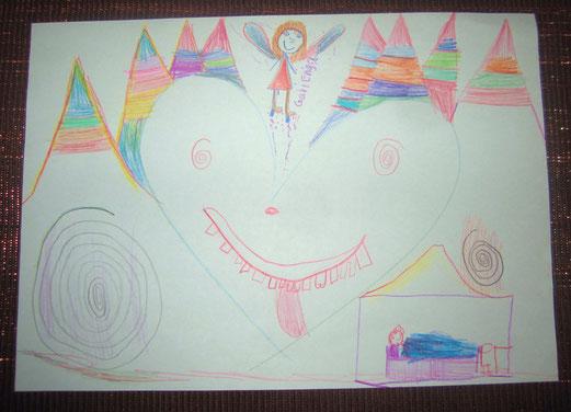 Zeichnung vom 17.12.2012 abends