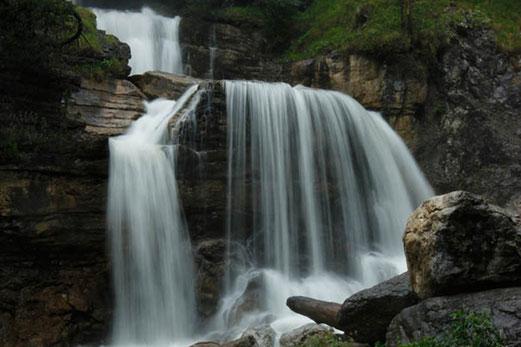 Untere Kuhfluchtwasserfälle, Farchant, Wasserfälle in Deutschland