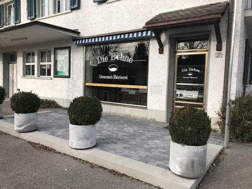Gossau hat wieder eine Kaffee-Rösterei: Die Bohne an der Grütstrasse 37. Bild: bunts.ch