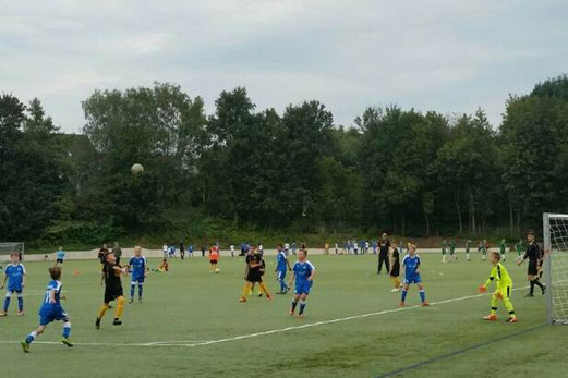 TuS D2-Jugend im Auswärtsspiel an der Ardelhütte. - Foto: m.d.
