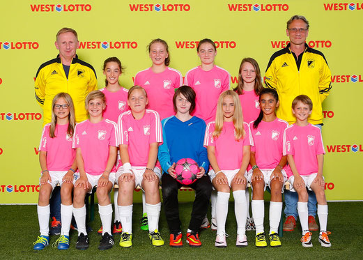 Farbenfroh, TuS U13 Juniorinnen. - Foto: WestLotto Team-Shooting.