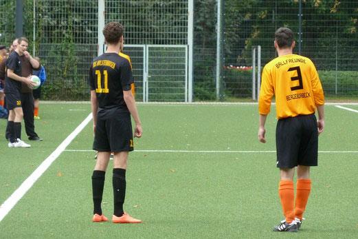 Dritte Mannschaft im Heimspiel gegen Ballfreunde Bergeborbeck 2. - Foto: mal.