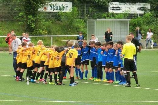 TuS D1-Jugend im Auswärtsspiel bei BV Altenessen an der Stankeitstraße. - Foto: s.v.g.