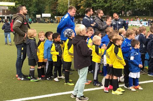 TuS Bambini  beim Turnier in Oberhausen. - Fotos: anka.