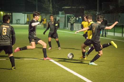 TuS A-Jugend im Mittwochabendspiel gegen FC Alanya. - Foto: r.f.