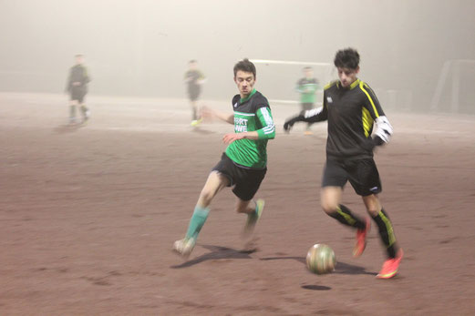 TuS B2-Jugend im Testspiel im Walpurgistal. - Foto: mal.