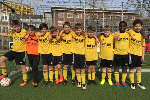 Vierter Sieg in Folge: TuS E2-Jugend im Spiel gegen die E2 der DJK Eintracht Borbeck. - Foto: c.k.