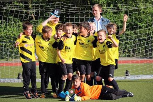 TuS F1-Jugend wurde Turniersieger am Fibelweg. - Foto: a.k.