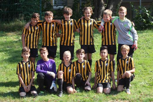TuS D1-Jugend beim Hubertus Cup an der Hubertusburg. - Fotos: pad.
