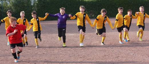 E1-Jugend beim Auswärtsspiel in Katernberg. - Foto: p.d.