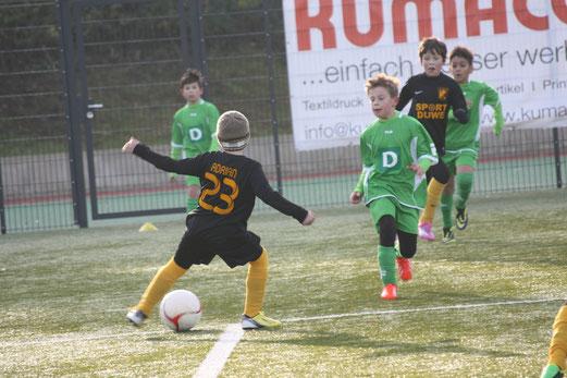 E2-Jugend im Auswärtsspiel an der Ardelhütte. - Foto: o.k.