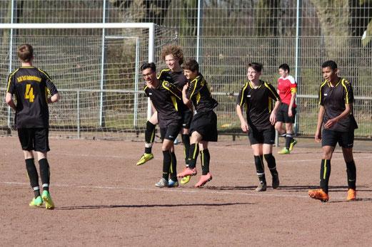 Auswärtssieg für TuS B2-Jugend am Hessebad. - Foto: abo.