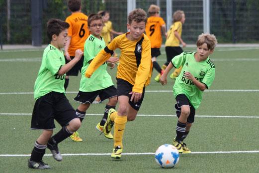 22 Tore erzielte die E1-Jugend im Heimspiel gegen den SV Borbeck. - Foto: p.d.
