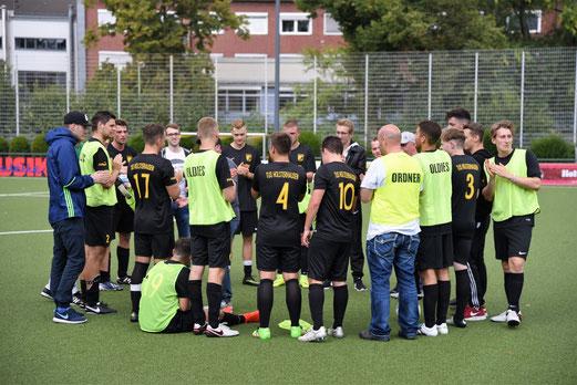 TuS 2.Mannschaft im Spiel gegen NK Croatia. - Foto: ings.