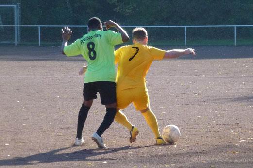 Am Ende hätte der Sieg noch höher ausfallen können. Erste Mannschaft beim FC Stoppenberg. - Foto: mal.