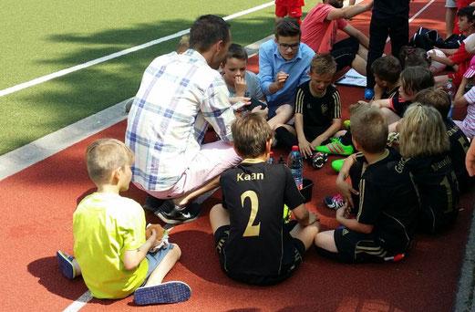 TuS F3-Jugend beim TuSEM Turnier am letzten Sonntag. - Foto: s.b.